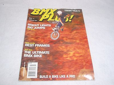 81 12 ISSUE 2 NO NOS ORIGINAL BMX RIDE MAGAZINE FEBRUARY 2003 VOL