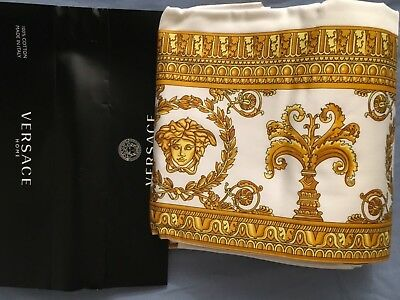 VERSACE MEDUSA PILLOW CASES SET of 2 KING NEW LOVER LUXURY GIFT ORIGINAL SALE