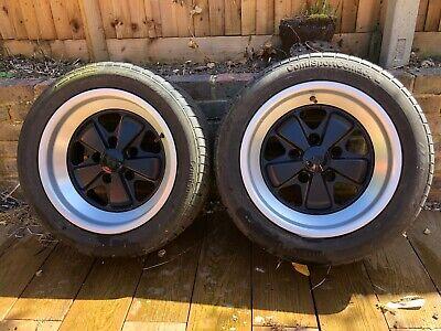 Porsche 911 944 Fuchs Alloy Wheels and Tyres X 2