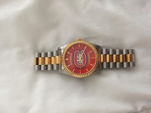 Gold mens canadiens watch