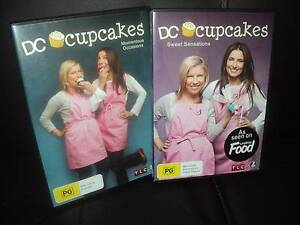 DC CUPCAKES  DVD'S-MOMENTUS OCCASIONS & SWEET SENSATIONS DVD'S Wynn Vale Tea Tree Gully Area Preview
