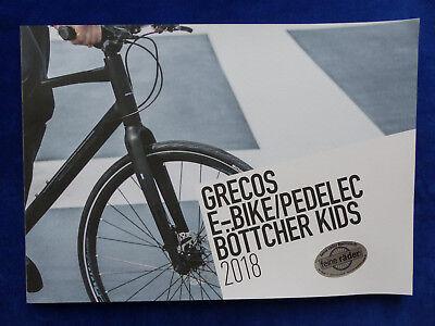 Grecos Programa 2018 Bicicleta Eléctrica Pedelec Ronda Senderismo Niños -