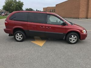 2007 Dodge Grand Caravan Wheelchair accessible 7000.00 Certified