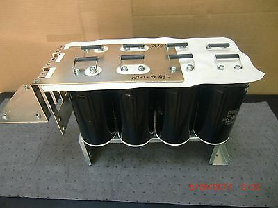 Nippon Chemi-con Bus Capacitor Bank For Ac Drive Pn 10000uf 450v. . Tested