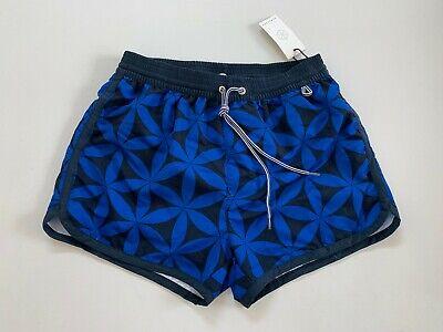 HOMECORE Men's Swim Trunk Board Shorts in Blue Multi Size Small - NEW
