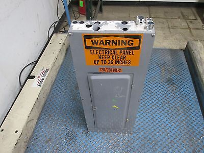 Square Dmain Breaker Circuit Breaker Panel 200a Main 3ph 40 Circuit Used
