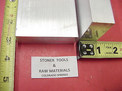 2 Pieces 1 X 3 Aluminum 6061 Flat Bar 3 Long T6511 1.00 Plate New Mill Stock