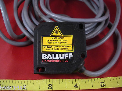 Balluff Bod 26k-la02-c-06 Sensor 277762 18-28v Dc Bod0003 Laser Distance 670nm