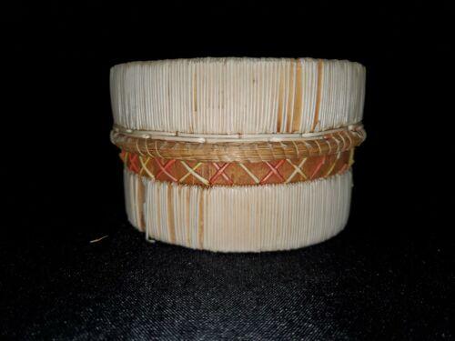 Native American Birch Quill Box
