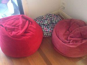 Bean Bags x 3 pick up between 6-7pm Hawthorn Boroondara Area Preview