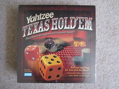 Yahtzee Texas Hold'em Poker Dice Game 2004 Parker Brand New Sealed, used for sale  Shipping to Ireland