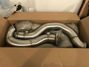 "BMW 335i VRSF 3"" Catless Downpipes"