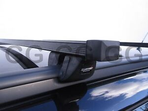 Roof Rack Bars Vauxhall Astra Estate 2004-2006 with Closed Solid Flush Rails