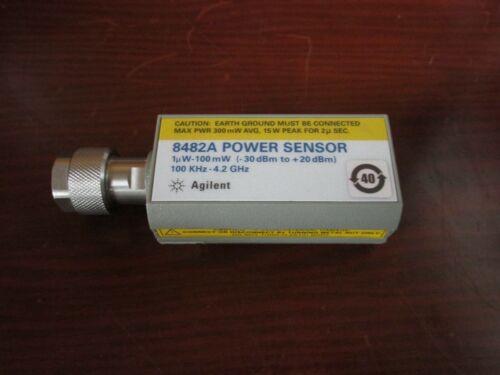 Agilent / HP 8482A Power Sensor **TESTED**100kHz 4.2GHz 1uW 100mW (-30dBm 20dBm)