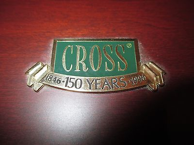 CROSS 150 YEARS LIMITED EDITION ANNIVERSARY  UNDIPPED FOUNTAIN PEN IN GOLD