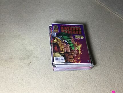 Bunch of Marvel Comic Books Manly West Brisbane South East Preview