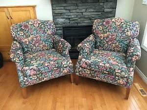 2 armchairs