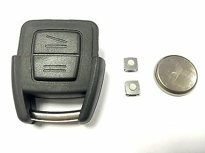 Kit de Reparación para Opel Astra G 1999-2005 Zafira Remoto Llavero 2 Botones