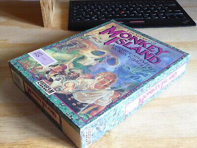 The secret of Monkey Island Amiga English videogame retrogame