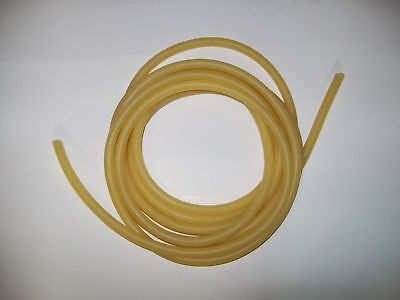 7 Feet 18 I.d X 132 Wall X 316 O.d Surgical Latex Tubing Amber Rubber