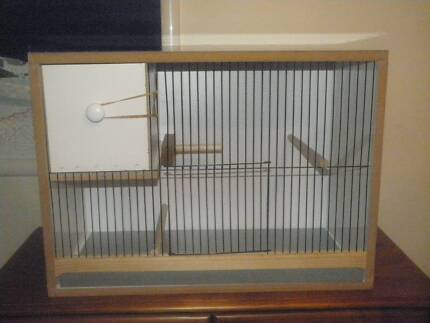 Budgie breeding cabinet 24x14 with pull out nest