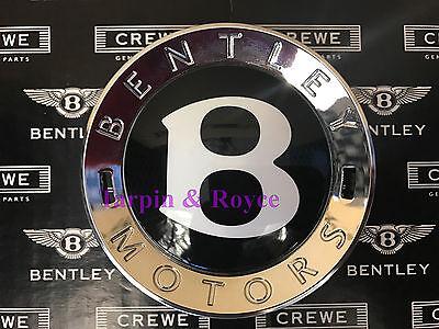 Bentley Center Cap Genuine All Size Wheels Black With Chrome Brand New 100 Crew