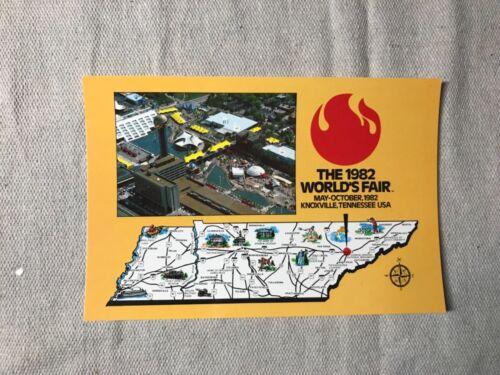Vintage 1982 World's Fair Knoxville, TN Postcard