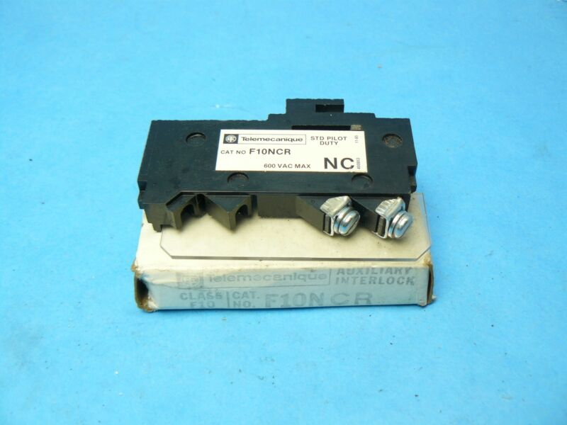 Telemecanique ITE Gould Siemens F10NCR Auxiliary Contact Right Side 1 NC New