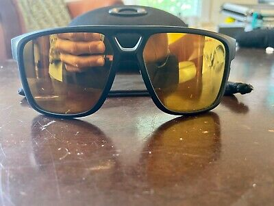 Oakley Crossrange Patch Men's 24k Iridium Sunglasses (OO9382-0460) - Matte Black