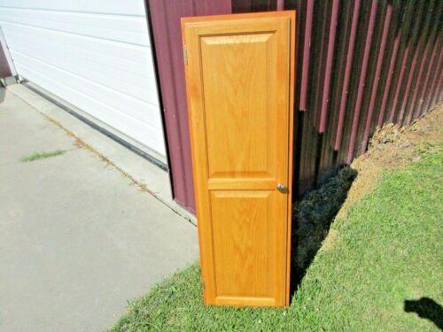 vintage Hide A Board in Wall Oak Cabinet Ironing Board w Light, Timer Sleeve Brd