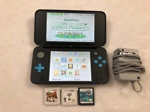Nintendo 2ds xl with 3games