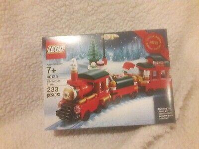 LEGO Creator Christmas Train 2015 (40138) Retired HTF NIB Sealed Set
