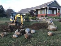 Excavation and dump truck service