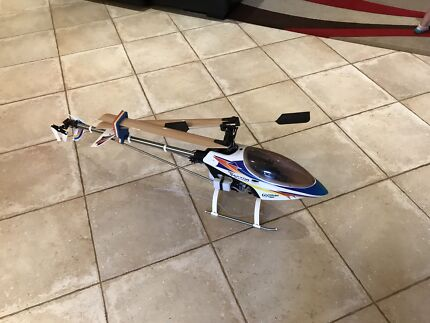 RC Helicopter Titan Raptor 50 size