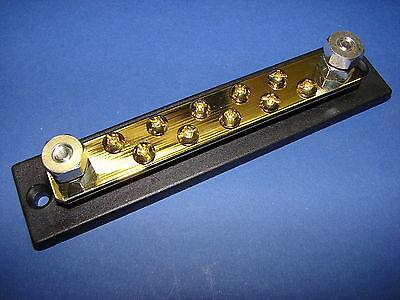 Terminalblock Masseverteiler Sicherung 120A 12V 10 Anschlüsse neu