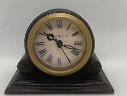 Howard Miller Mahogany Tabletop Desk Clock HD-1688
