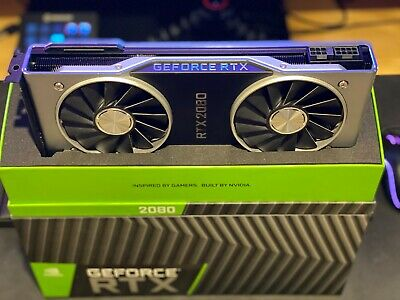 NVIDIA GeForce RTX 2080 Founder's Edition 8GB GDDR6 Graphics Card