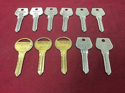 Mazda By Curtis Esp Automotive Mz14 Mz10 Key Blanks Set Of 11 - Locksmith