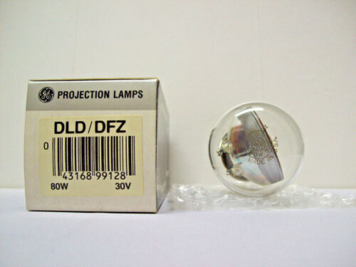 DLD/DFZ Projector Projection Lamp Bulb 80W 30V GE  *AVG 15-HR