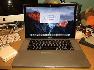"15"" MacBook Pro for sale!"