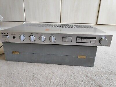Vintage Sony TA-AX2 Slimline Stero Integrated Amplifier Hi-Fi with Manual
