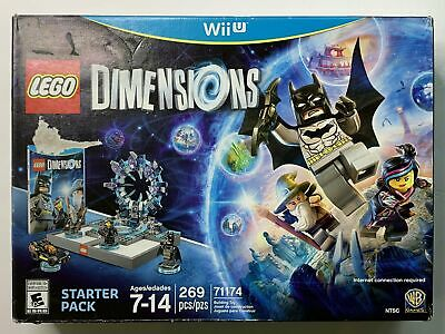 LEGO Dimensions Wii U Starter Pack 71174 Building Toy Batman 269 PCS Nintendo