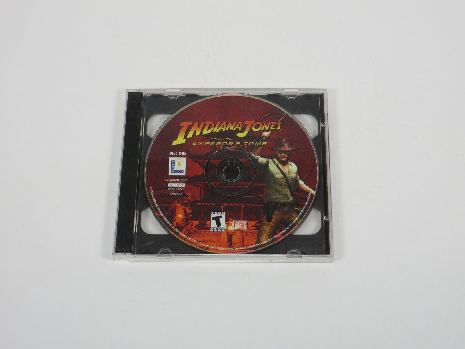 Computer Games - Indiana Jones and the Emperor's Tomb (PC, 2004) PC Vintage Computer Game