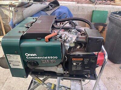 Onan Commercial 6500 Watt Generator Rv Motorhome Generator