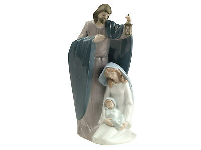 Nao by Lladro Natividad De Jesús Marca Punta #1621 Navidad José María...