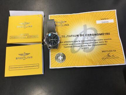 Breitling Titanium Watch RRP $10,000