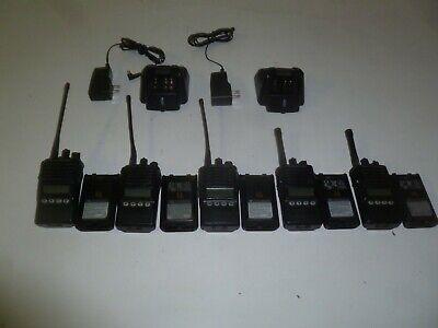 5 Vertex Standard Vx-354-g7-5 Ag7b-5 5w 450-512 Mhz Uhf Two Way Radio Yb474