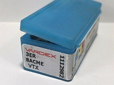 Vardex 3er 8acme New Carbide Inserts Grade Vtx 6pcs