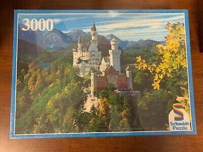 Vintage Neuschwanstein 3000 Piece Schmidt Puzzle NEW AND SEALED SEE DESCRIPTION
