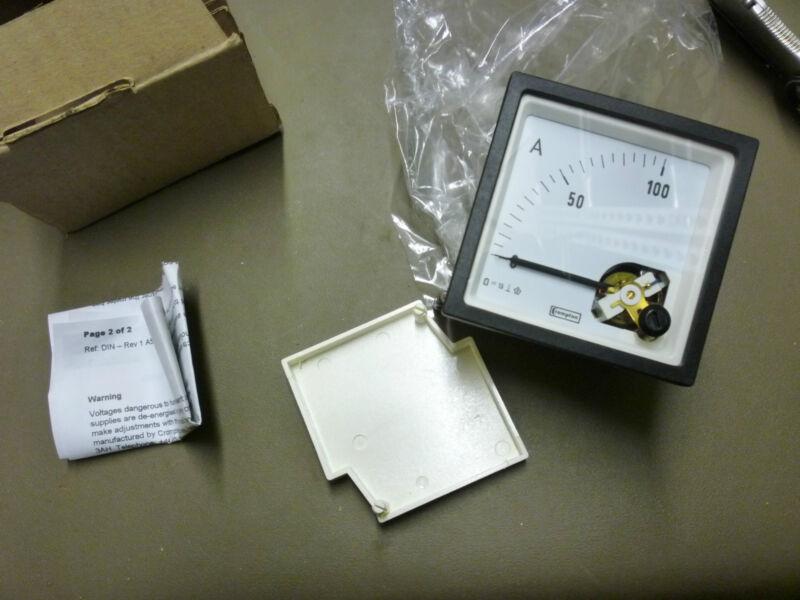 Crompton Instruments Ammeter E243-01A-G-HY-PK     (*270EB)